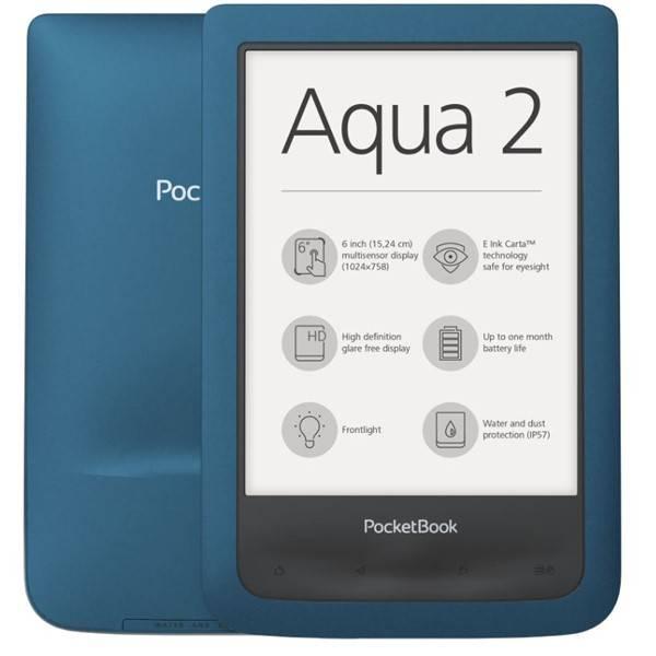 Čtečka e-knih Pocket Book 641 Aqua 2 (PB641-A-WW) modrá (vrácené zboží 8800281924)