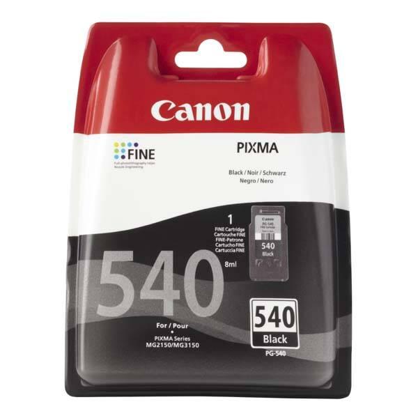 Inkoustová náplň Canon PG-540, 180 stran - originální (5225B005) černá