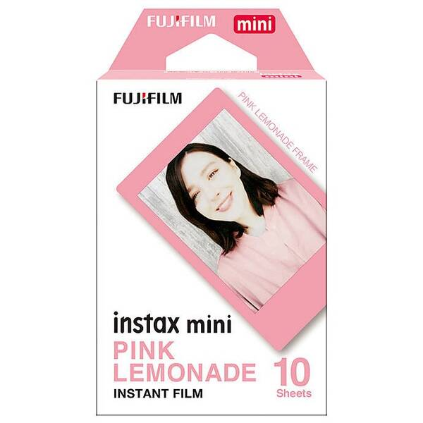 Instantní film Fujifilm Instax Mini Pink Lemonade 10ks