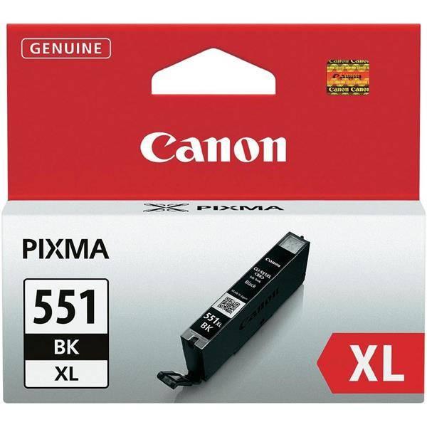 Inkoustová náplň Canon CLI-551XL BK, 4425 stran - originální (6443B001) černá