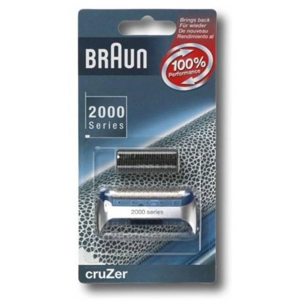 Příslušenství pro holicí strojky Braun CombiPack Series1/Z - 20S stříbrné