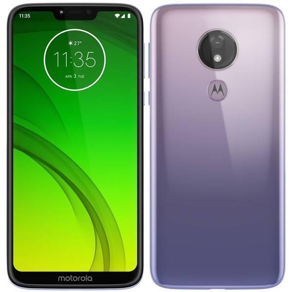 Mobilní telefon Motorola moto g7 power Dual SIM (PAE90030RO) fialový (vrácené zboží 8800385237)