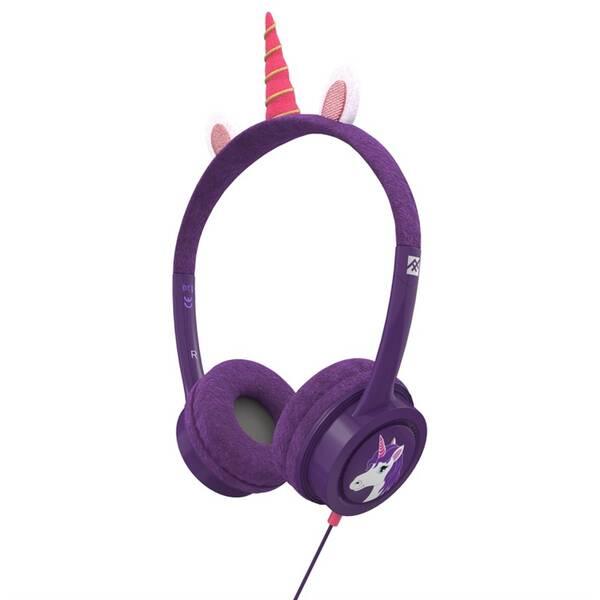Sluchátka iFrogz Little Rockerz Costume - Jednorožec