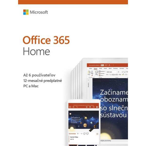 Software Microsoft Office 365 Home SK (6GQ-01048)