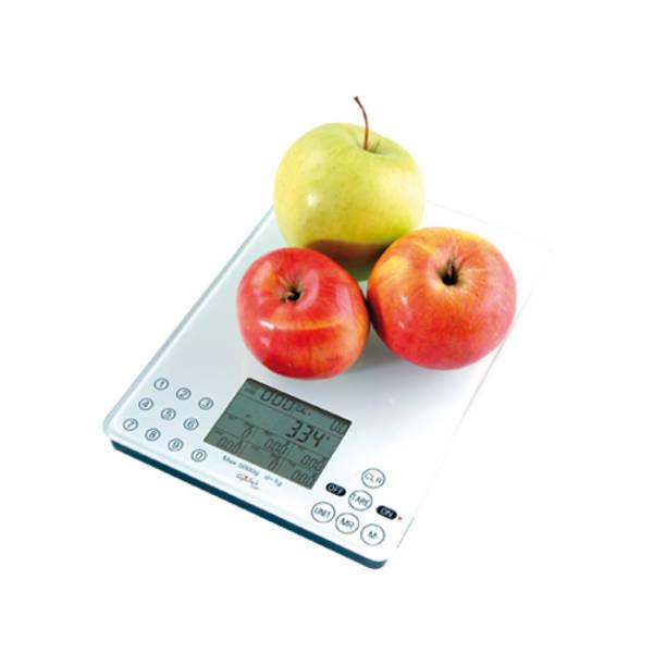 Kuchyňská váha Gallet Vertou BAC 103 bílá