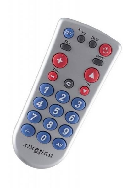 Dálkový ovladač Vivanco UR Z2 2v1 (vrácené zboží 8800492726)