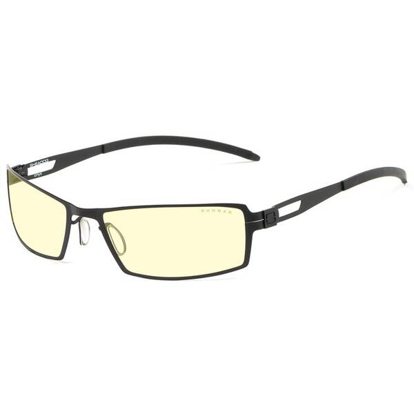 Kancelárske okuliare GUNNAR Sheadog Onyx, jantorová skla (G0005-C001) čierne