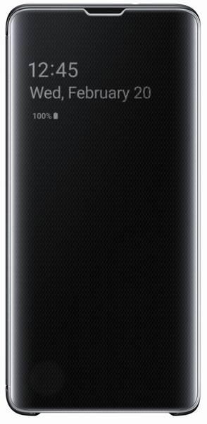 Pouzdro na mobil flipové Samsung Clear View pro Galaxy S10 (EF-ZG973CBEGWW) černé (vrácené zboží 8800198290)
