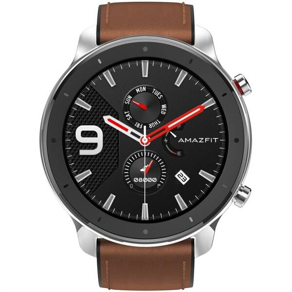 Chytré hodinky Xiaomi Amazfit GTR 47 mm - Stainless Steel (A1902-ST)