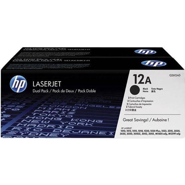 Toner HP Q2612AD, 2K stran - originální (Q2612AD) černý