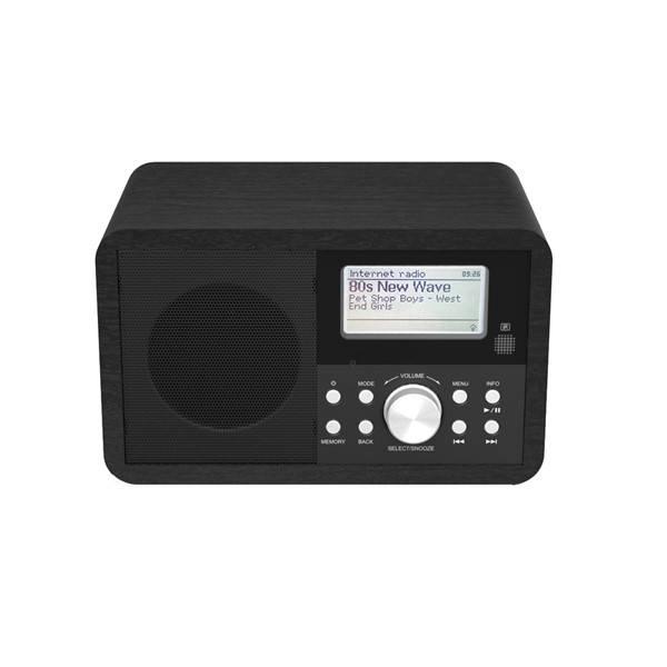 Internetový radiopřijímač Denver IR-110 (dir110) černý (vrácené zboží 8918011705)