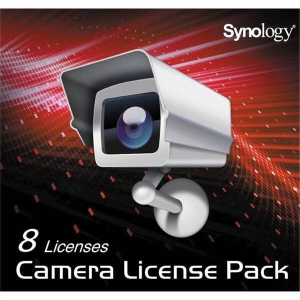 Software Synology Camera License Pack 8x (DEVICE LICENSE (X 8))