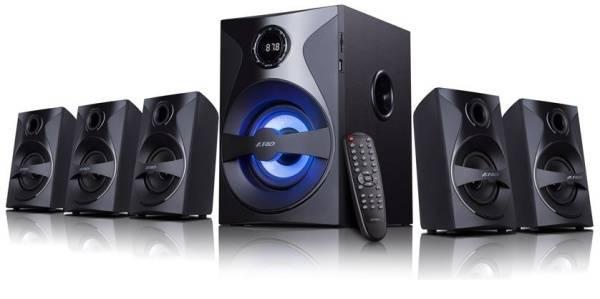 Reproduktory Fenda F&D F3800X 5.1, bluetooth, rádio, USB, SD, dálkové ovládání (F3800X) černé