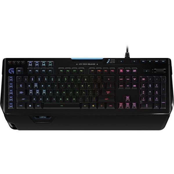 Klávesnice Logitech Gaming G910 Orion Spectrum, US (920-008018) černá