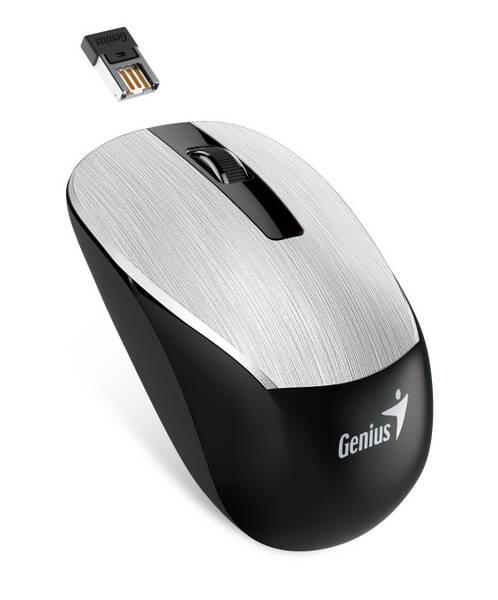 Myš Genius NX-7015 (31030119105) stříbrná
