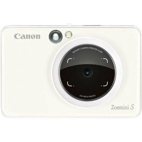 Digitální fotoaparát Canon Zoemini S bílý