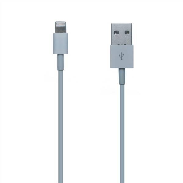 Kabel Connect IT USB/Lightning, 1m (CI-159) bílý