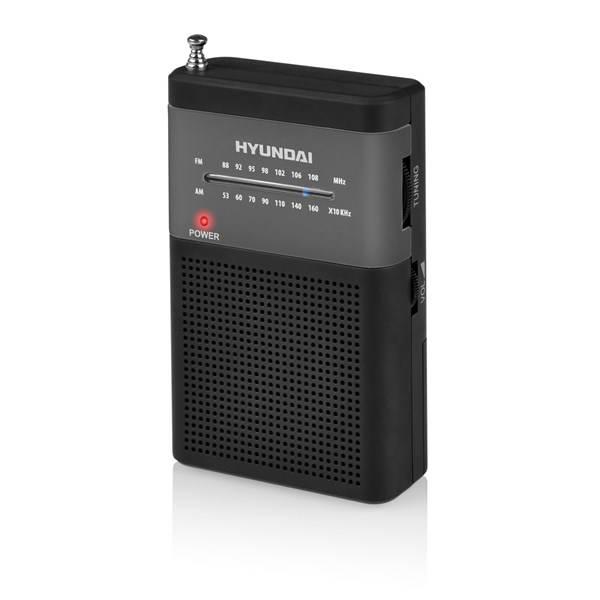 Radiopřijímač Hyundai PPR 310 BS černý/stříbrný