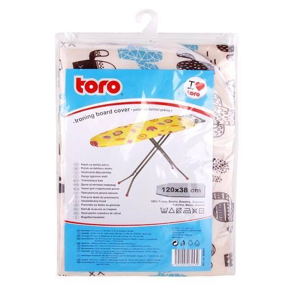 Poťah na žehliacu dosku TORO 120x38 cm