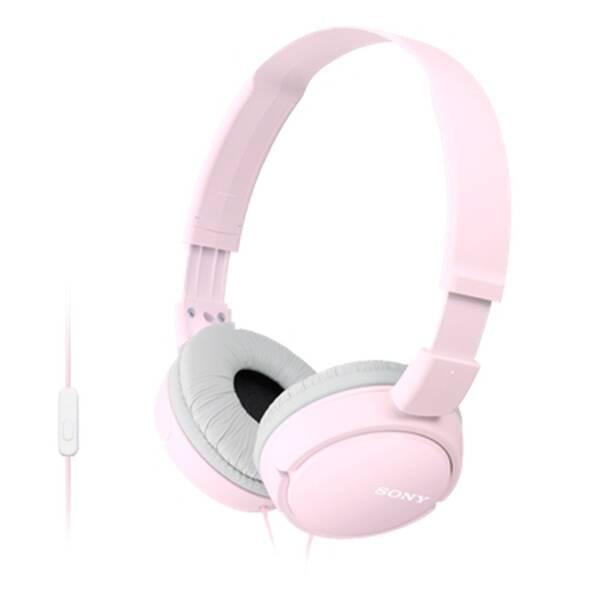 Sluchátka Sony MDRZX110APP.CE7 (MDRZX110APP.CE7) růžová