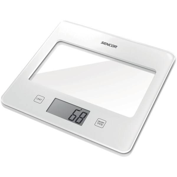 Kuchyňská váha Sencor SKS 5020WH bílá