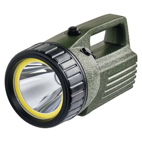 Svítilna EMOS 10W LED+COB (1433010070) černá/zelená (vrácené zboží 8800354336)