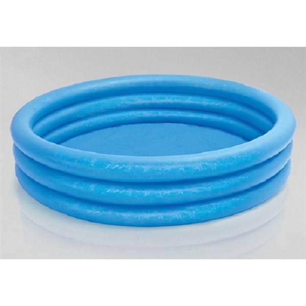 Bazén Intex 3-Ring Crystal Blue prům. 1,68x0,38 m - dětský