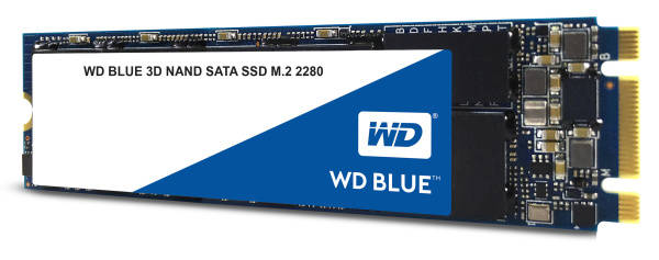 SSD Western Digital Blue M.2 3D NAND 250GB (WDS250G2B0B) (vrácené zboží 8800195349)