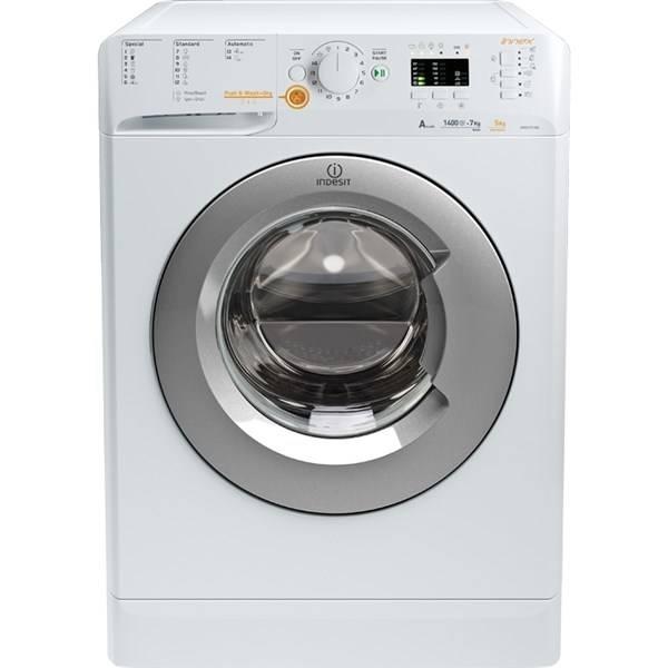 Automatická práčka so sušičkou Indesit Innex XWDA 751480X WSSS EU biela