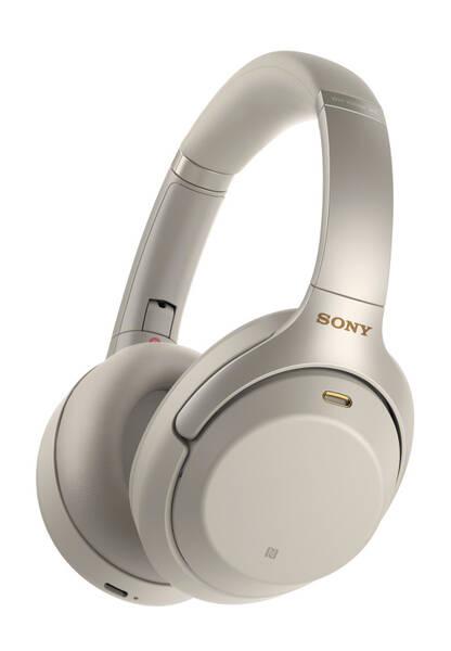 Sluchátka Sony WH-1000XM3S (WH1000XM3S.CE7) stříbrná
