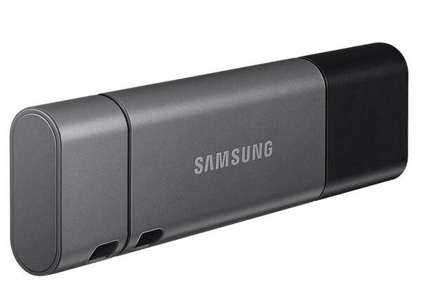 USB flash disk Samsung Duo Plus 32GB USB-C (MUF-32DB/EU) čierny