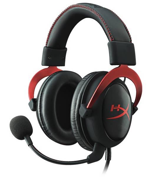Headset HyperX Cloud II (KHX-HSCP-RD) černý/červený (vrácené zboží 8800038128)