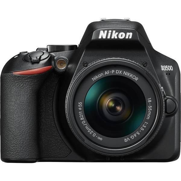 Digitální fotoaparát Nikon D3500 + 18-55 AF-P VR (VBA550K001) černý
