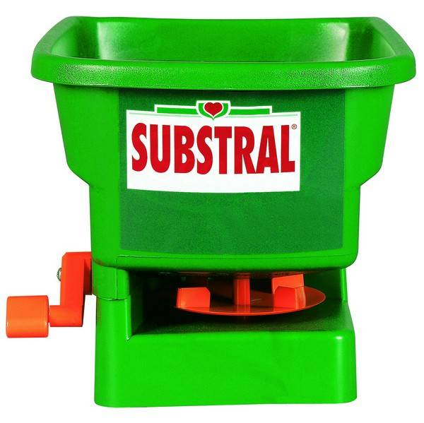 Rozmetadlo hnojiv a soli Substral HANDYGREEN zelené