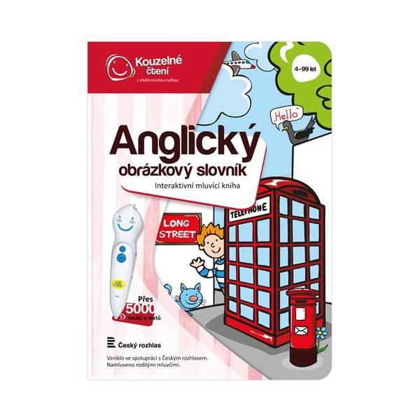 Kouzelné čtení Albi Kniha Anglický obrázkový slovník