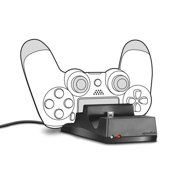 Dokovací stanice Speed Link Jazz pro PS4 DualShock 4 (SL-450000-BK) černý