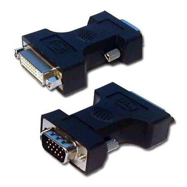 Redukce LAMA VGA/DVI, M/F (316448) černá