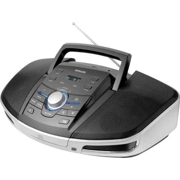 Radiopřijímač s CD Sencor SPT 280 černý/stříbrný