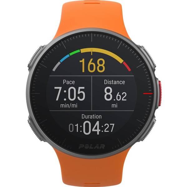 GPS hodinky Polar Vantage V oranžové