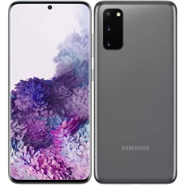 Mobilní telefon Samsung Galaxy S20 (SM-G980FZADEUE) šedý (Zboží vrácené ve 14 denní lhůtě, servisované 8800690205)
