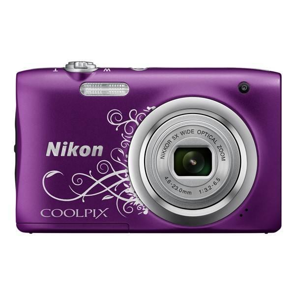 Digitálny fotoaparát Nikon Coolpix A100 fialový