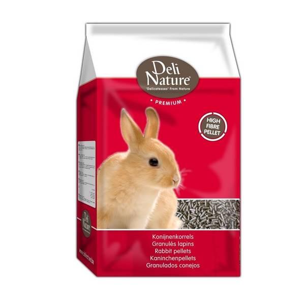 Krmivo Deli Nature Premium RABBIT PELLETS Králík 4 kg