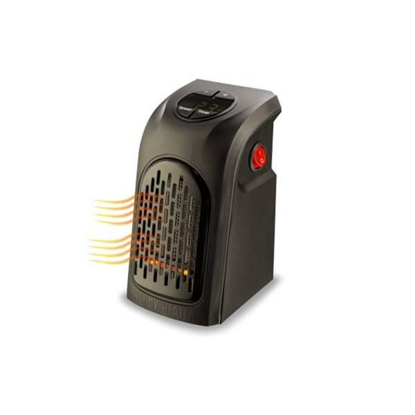 Teplovzdušný ventilátor Rovus Handy heater černý (vrácené zboží 8800326406)
