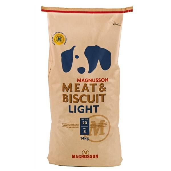 Granule Magnusson Meat & Biscuit Light 14 kg