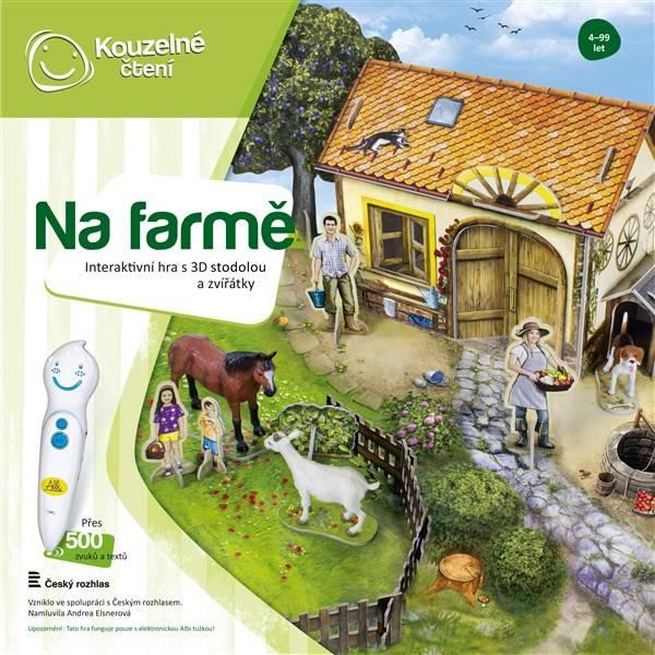 Kouzelné čtení Albi Hra Farma 3D