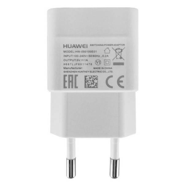 Nabíječka do sítě Huawei HW-050100E01W, + micro USB kabel, 1A (bulk) (429936) bílá (vrácené zboží 8800250160)