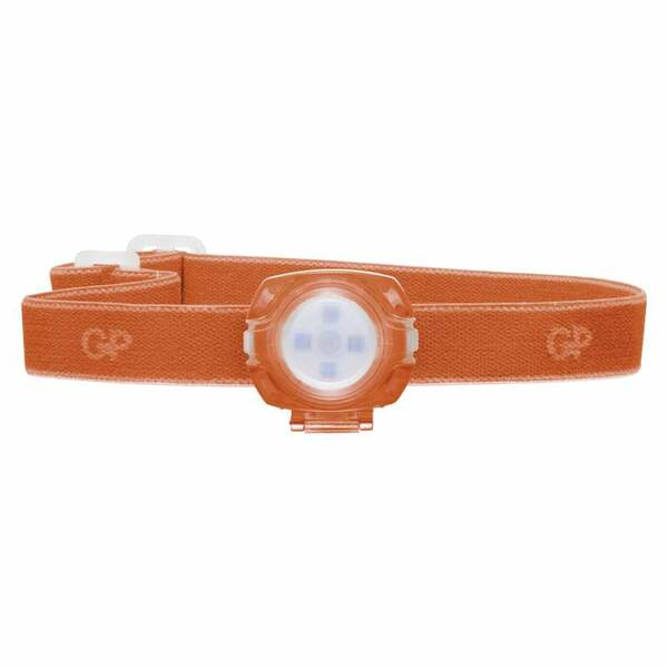 Čelovka GP 1× LED, 2× 2025 - oranžová (1451703101)
