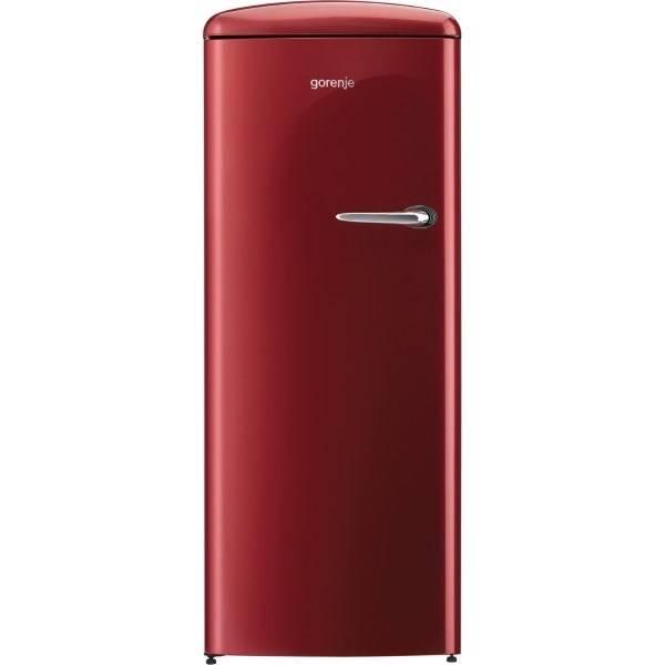 Chladnička Gorenje Retro ORB152R-L vínová