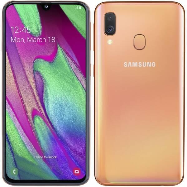 Mobilní telefon Samsung Galaxy A40 Dual SIM (SM-A405FZODXEZ) oranžový