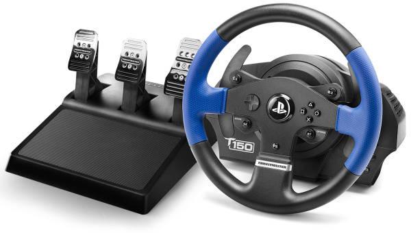 Volant Thrustmaster T150 PRO pro PS4, PS3, PC + pedály (4160696) černý